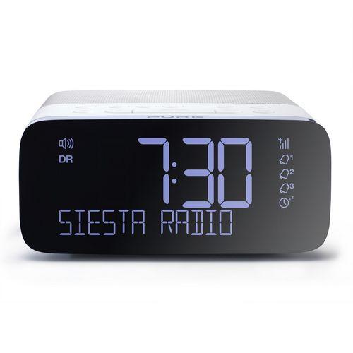 Pure Siesta Rise FM/DAB+/USB Clock Radio