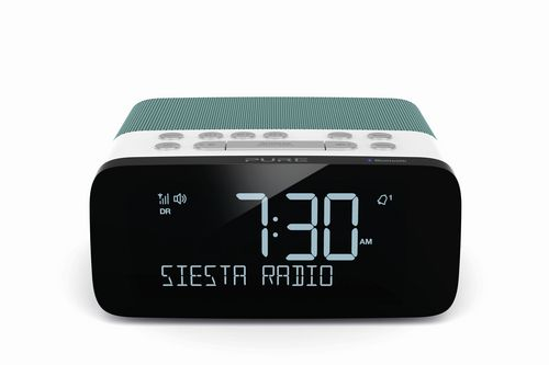 Pure Siesta Rise S FM/DAB+/BT Clock Radio - mint
