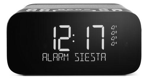Pure Siesta S6 FM/DAB+ Clock Radio - graphite