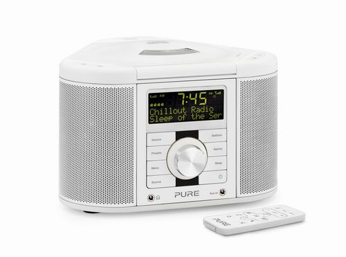 Pure Chronos CD Series 2 FM/DAB+ Radio and CD Player - white