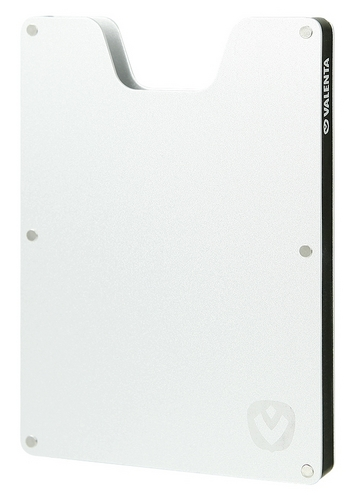 Valenta Aluminium Card Case - brushed
