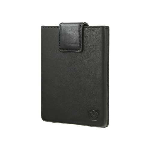 Valenta Pocket Luxe Card Case - black
