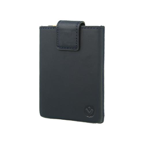 Valenta Pocket Luxe Card Case -  vintage blue