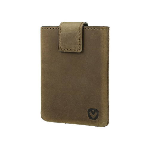 Valenta Pocket Luxe Card Case -  vintage brown