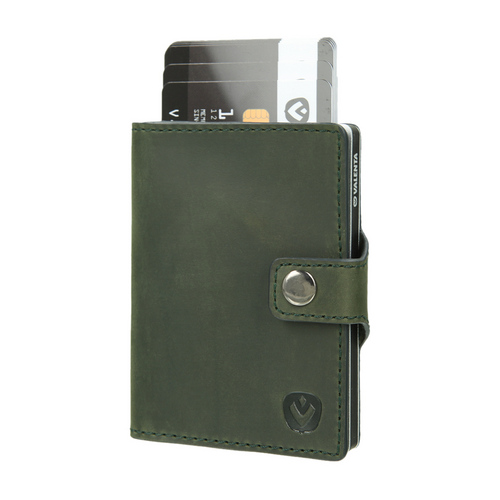 Valenta Wallet Card Case - vintage green