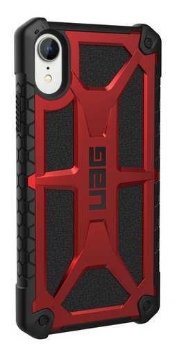 UAG Monarch Case - iPhone XR (6.1 Screen) - crimson