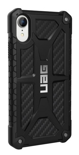 UAG Monarch Case - iPhone XR - carbon fiber