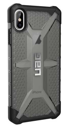 UAG Plasma Case - iPhone XS Max (6.5 Screen) - ash (transparent)
