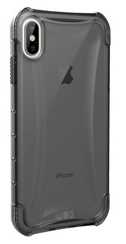 UAG Plyo Case - iPhone XS Max (6.5 Screen) - ash (transparent)