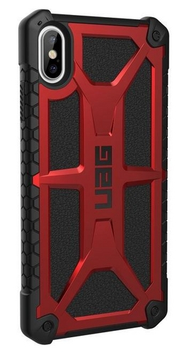 UAG Monarch Case - iPhone XS Max (6.5 Screen) - crimson
