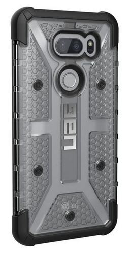 UAG Plasma Case - LG V35 ThingQ - ice (transparent)