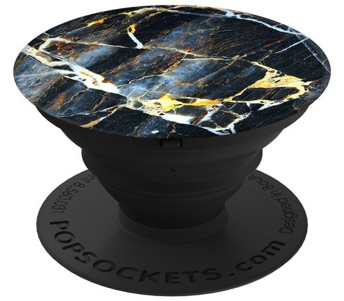 PopSockets Amber Black Marble