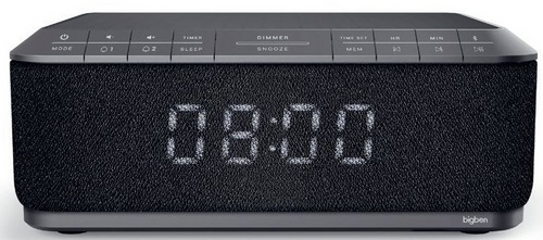 Bigben - Radiowecker RR140 Induktion - grey
