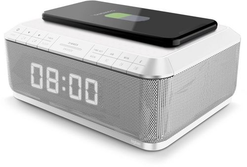 Bigben - Radiowecker RR140 Induktion - white