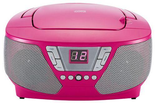Bigben - Tragbares CD/Radio CD60 Kids - pink