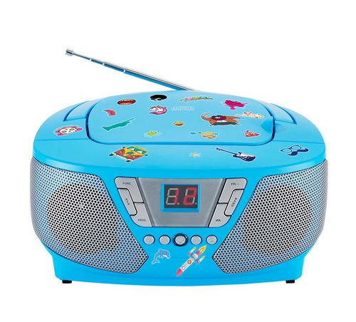 Bigben - Tragbares CD/Radio CD60 Kids - blue