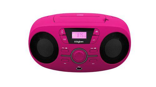 Bigben - Tragbares CD/Radio CD61 USB - pink