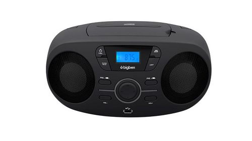 Bigben - Tragbares CD/Radio CD61 USB - black