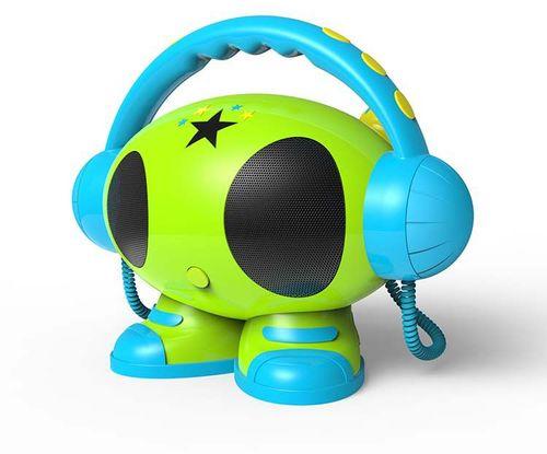 Bigben - MP3 Karaoke Roboter - green