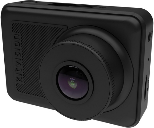 Kitvision Observer 1080p WiFi [GPS, Amp] Dash Camera - black
