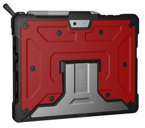 UAG Metropolis Case - Microsoft Surface Go - magma