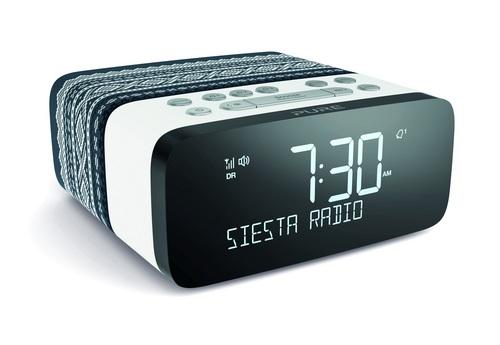 Pure Siesta Rise Marius  FM/DAB+ Clock Radio - grey