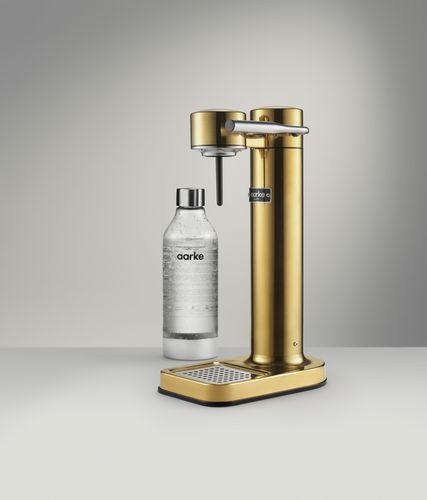 AARKE Sparkling Water Maker Carbonator II - brass