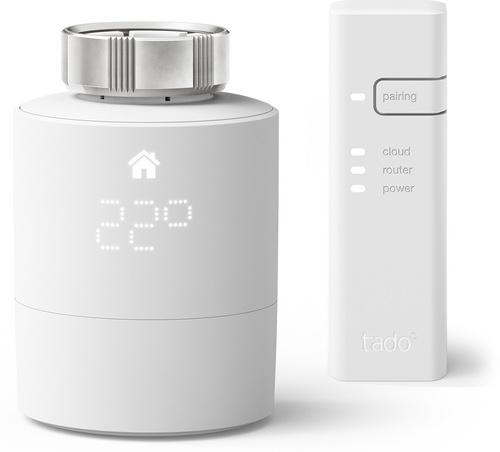 Tado Smart Radiator Thermostat - Starter Kit V3+ inkl. 1 Bridge