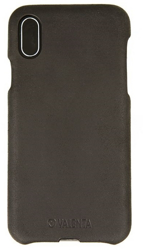 Valenta Back Cover Classic Vintage - iPhone XS Max - black
