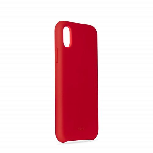 Puro Icon Cover - iPhone X/XS - red
