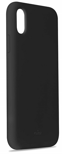 Puro Icon Cover - iPhone XS Max - black