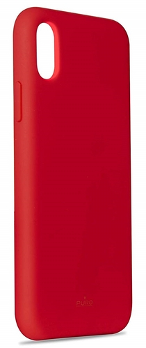 Puro Icon Cover - iPhone XS Max - red