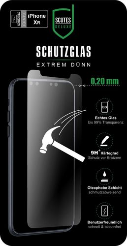 Scutes Glass Screen Protector - iPhone XR