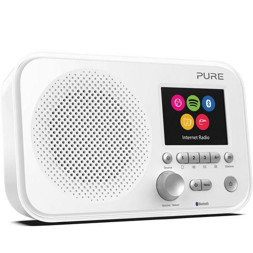 Pure Elan IR5 DAB+ Radio - white