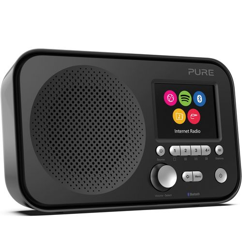 Pure Elan IR5 DAB+ Radio - black