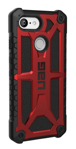 UAG Monarch Case - Google Pixel 3 (5 Screen) - crimson