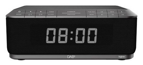 Bigben - Radiowecker RR140 Induktion + DAB+ - grey