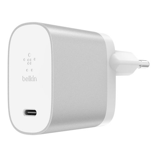 Belkin Boost USB-C Home Charger [27W] - silver