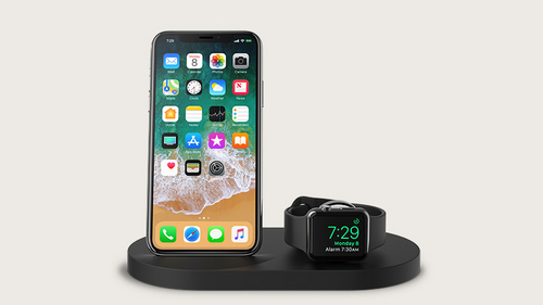Belkin Boost Up Wireless Charging Dock for iPhone + Apple Watch [7.5W] - black
