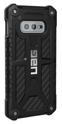 UAG Monarch Case - Samsung Galaxy S10e - carbon fiber