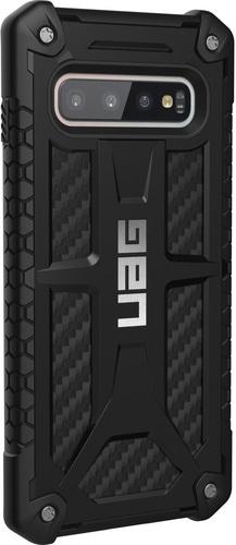 UAG Monarch Case - Samsung Galaxy S10 - carbon fiber