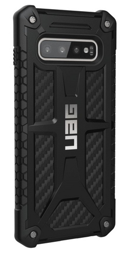 UAG Monarch Case - Samsung Galaxy S10+ - carbon fiber