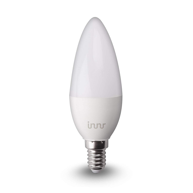 innr bulb rb 245-2 - candle (zigbee) warm white [e14] duopack
