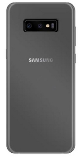 Puro 0.3 Nude Cover - Galaxy S10 - transparent