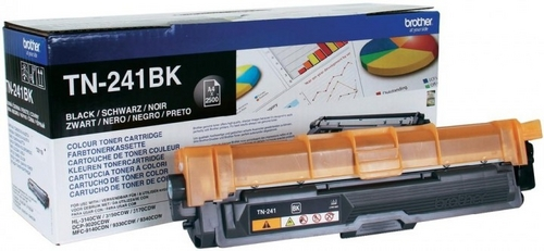 Brother TN-241BK, Toner nero, 2'500 pagine