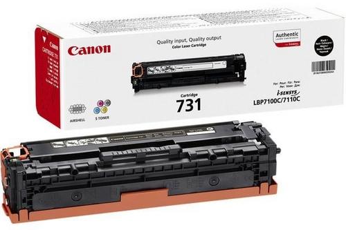 Canon 731, Toner nero, 1'400 pagine