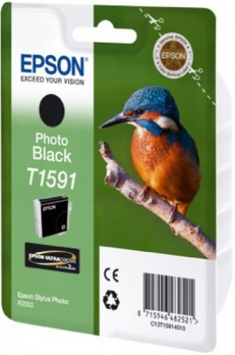 Epson T1591, TPA photo schwarz, 17 ml