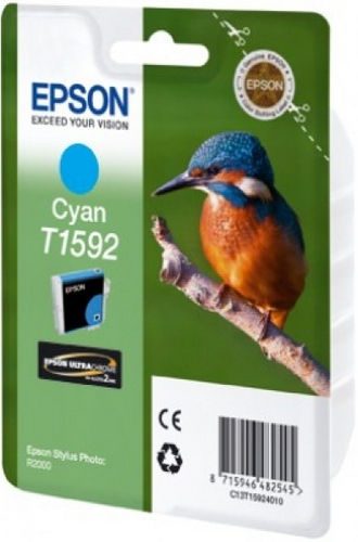 Epson T1592, Cartuccia d'inchiostro cyan, 17ml