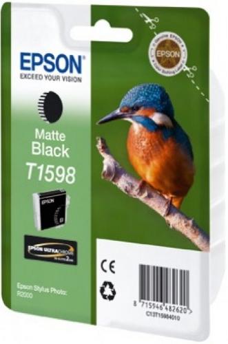 Epson T1598, Cartuccia d'inchiostro nero matte, 17ml