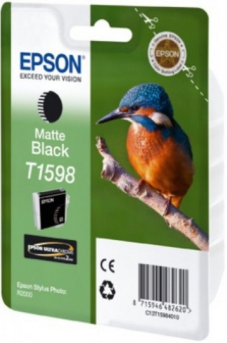 Epson T1598, TPA matt schwarz, 17ml